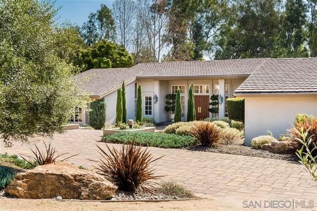 16678 Via De Los Rosales, Rancho Santa Fe, CA 92067 (#200011576) :: Keller Williams - Triolo Realty Group