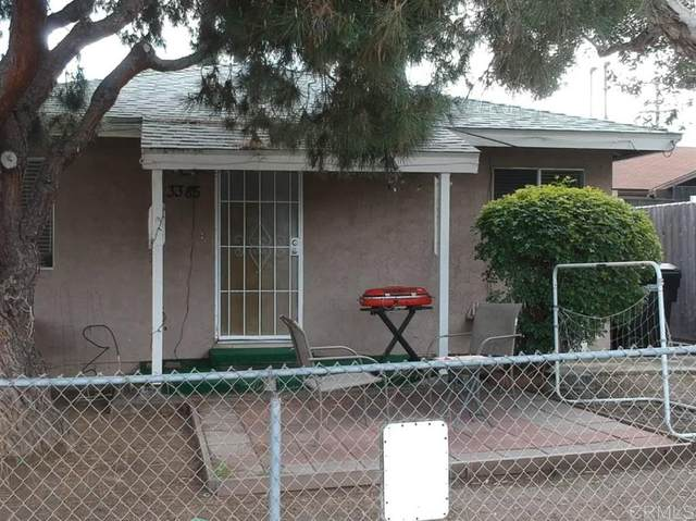 3385-87 Dwight St, San Diego, CA 92104 (#200014207) :: Keller Williams - Triolo Realty Group