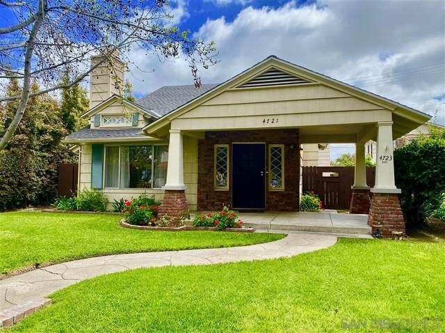 4721-23 Edgeware Rd, San Diego, CA 92116 (#200020079) :: Keller Williams - Triolo Realty Group