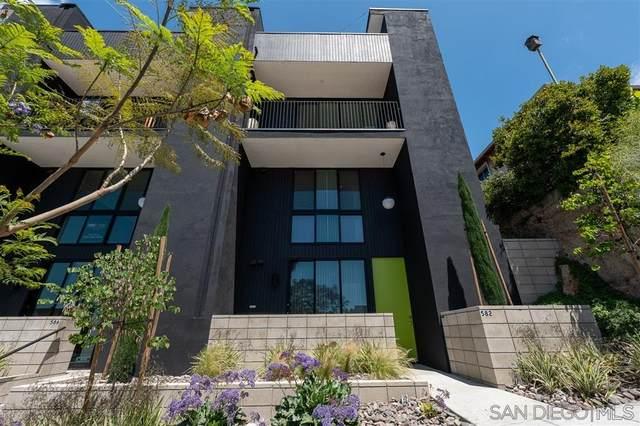 582 W Laurel, San Diego, CA 92101 (#200023548) :: Neuman & Neuman Real Estate Inc.