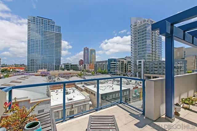 875 G Street #508, San Diego, CA 92101 (#200024016) :: Keller Williams - Triolo Realty Group