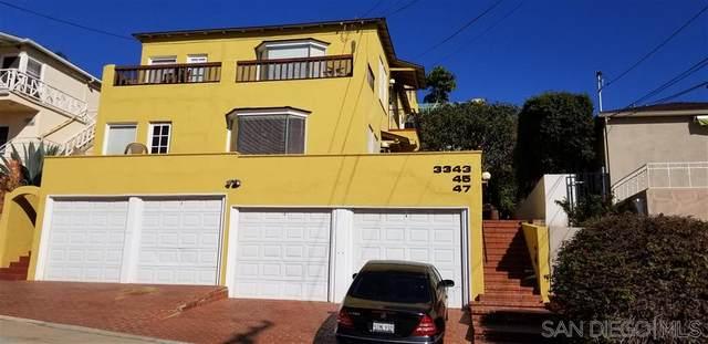 3343-47 Columbia St, San Diego, CA 92103 (#200025035) :: Compass