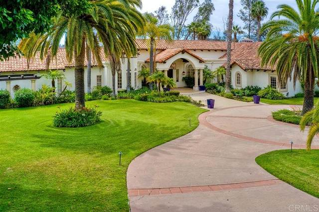 14825 Rancho Santa Fe Farms Rd., Rancho Santa Fe, CA 92067 (#200025116) :: Farland Realty
