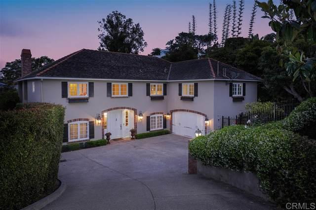 7695 Hillside Dr, La Jolla, CA 92037 (#200025689) :: Whissel Realty
