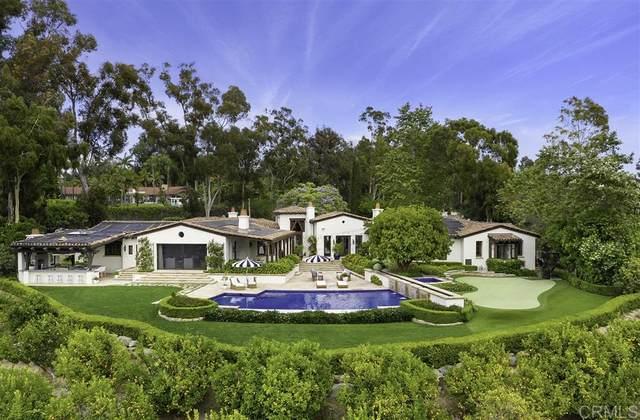 5111 El Mirlo, Rancho Santa Fe, CA 92067 (#200030056) :: Whissel Realty