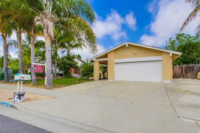 747 Granada Drive, Vista, CA 92083 (#200031993) :: Neuman & Neuman Real Estate Inc.