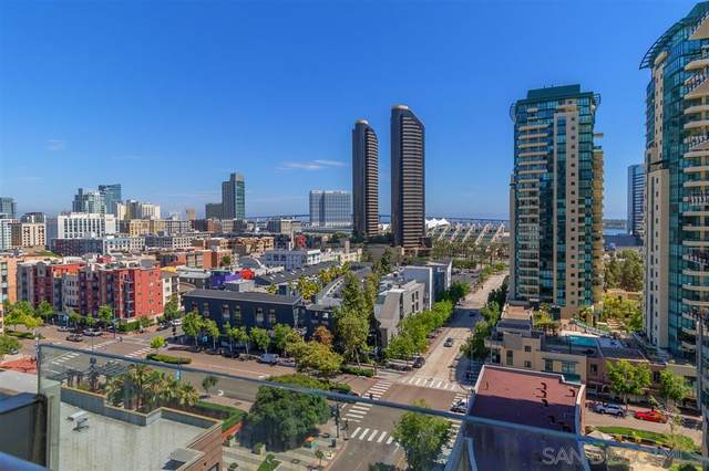 645 Front St #1201, San Diego, CA 92101 (#200032711) :: Whissel Realty