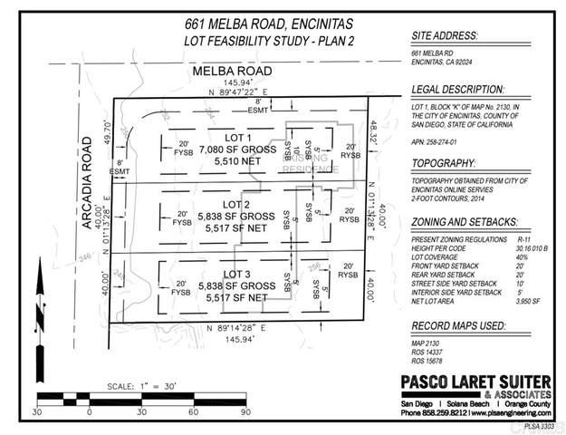 661 Melba Rd. ., Encintas, CA 92024 (#200033559) :: COMPASS