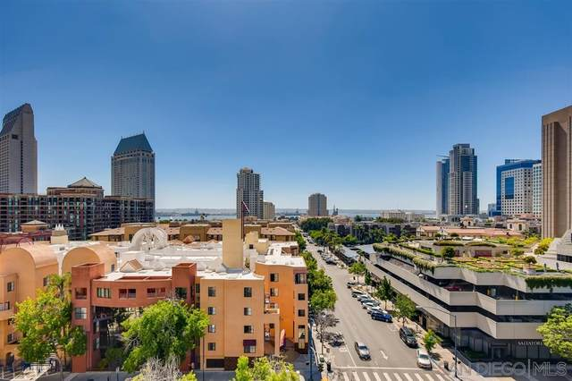 645 Front St. #905, San Diego, CA 92101 (#200035080) :: Whissel Realty