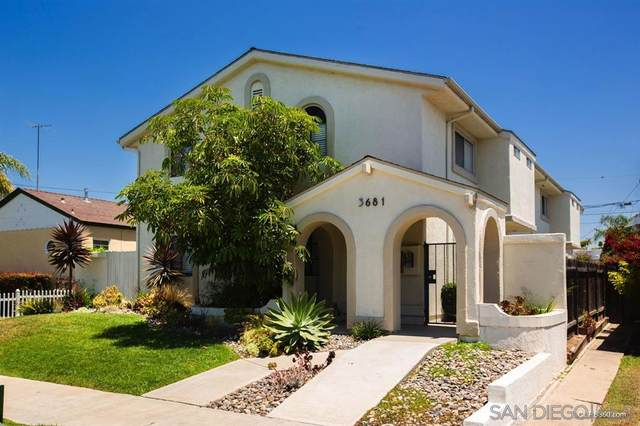 3681 Grim Ave Unit 4, San Diego, CA 92104 (#200036437) :: Whissel Realty