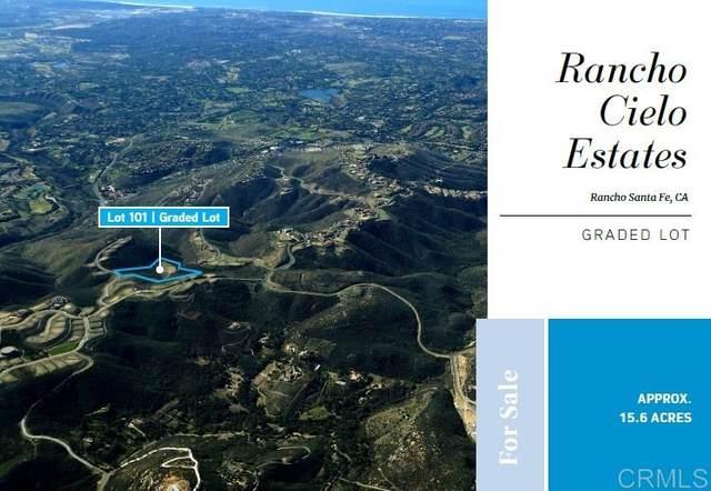 101 Cerro Del Sol 101 #00, Rancho Santa Fe, CA 92067 (#200038302) :: Yarbrough Group