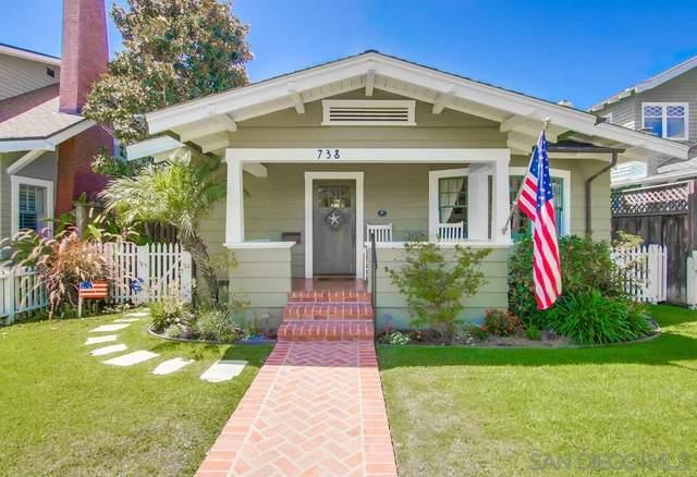 738 B Avenue, Coronado, CA 92118 (#200038595) :: Neuman & Neuman Real Estate Inc.