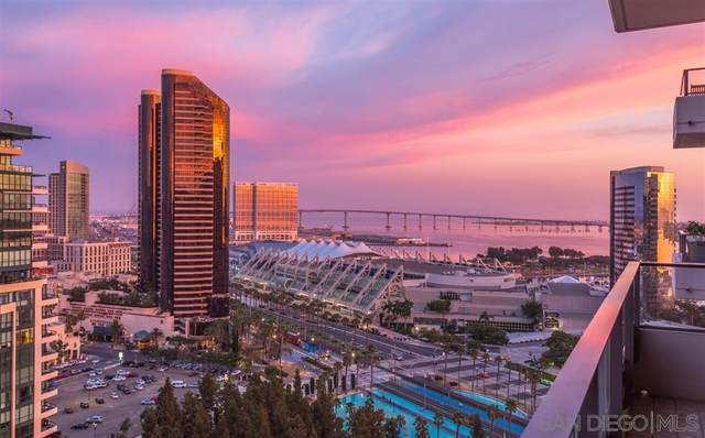 550 Front Street #1903, San Diego, CA 92101 (#200040633) :: SD Luxe Group