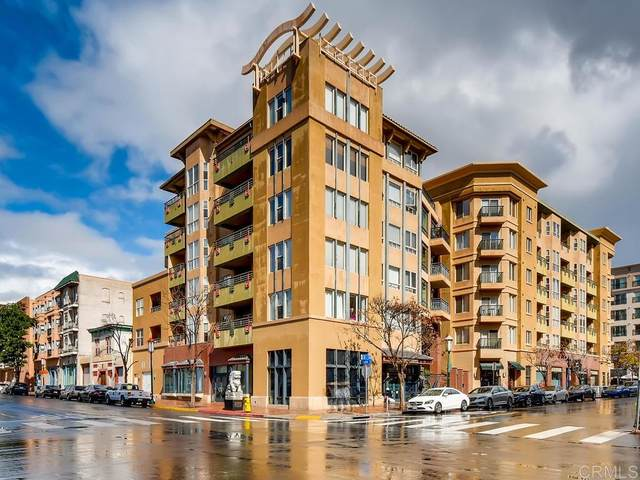 330 J St #307, San Diego, CA 92101 (#200041291) :: Tony J. Molina Real Estate