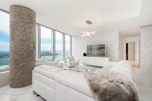 888 W E St #3703, San Diego, CA 92101 (#200043617) :: Tony J. Molina Real Estate
