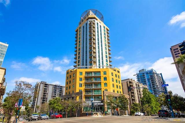801 Ash St #602, San Diego, CA 92101 (#200043620) :: SunLux Real Estate