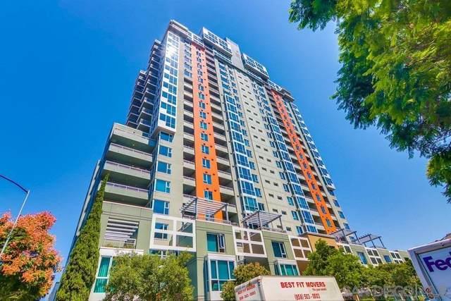 300 W Beech St #807, San Diego, CA 92101 (#200044389) :: Tony J. Molina Real Estate