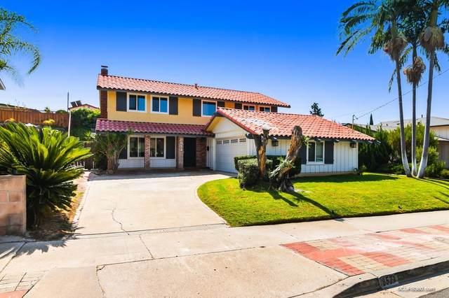 8571 Harwell Drive, San Diego, CA 92119 (#200046267) :: Tony J. Molina Real Estate