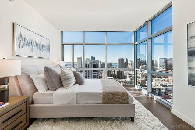800 The Mark Lane #2501, San Diego, CA 92101 (#210001371) :: SunLux Real Estate