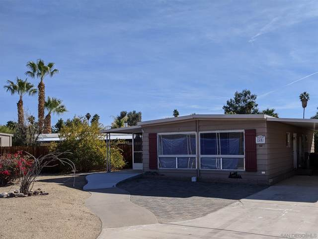 1010 Palm Canyon Dr #58, Borrego Springs, CA 92004 (#210001381) :: San Diego Area Homes for Sale