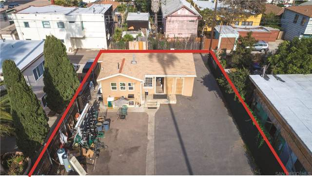 4870 Voltaire Street Lots 7 & 8, Map, San Diego, CA 92107 (#210001469) :: Team Forss Realty Group