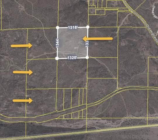 PAR 1 Old Highway 80 Par 1, Jacumba, CA 91934 (#210001740) :: Wannebo Real Estate Group