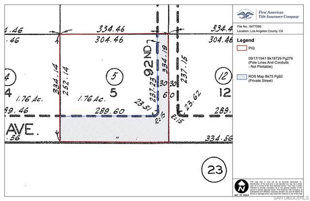 92 E Vac Cor #Avenue #5, Lancaster, CA 93535 (#210002020) :: Neuman & Neuman Real Estate Inc.