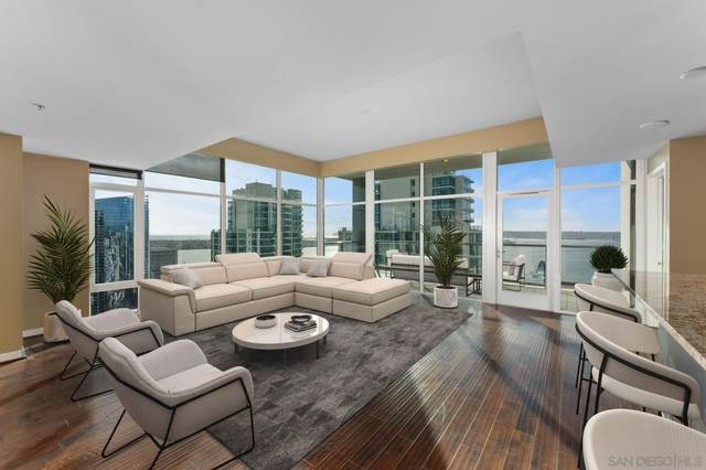 1262 Kettner Blvd. #3202, San Diego, CA 92101 (#210003492) :: PURE Real Estate Group