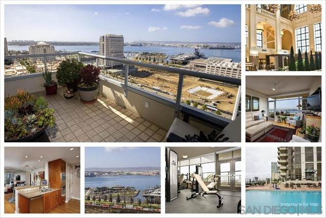 700 W E St #1902, San Diego, CA 92101 (#210004248) :: SD Luxe Group