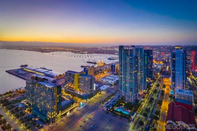 700 W E St #4102, San Diego, CA 92101 (#210004625) :: SD Luxe Group