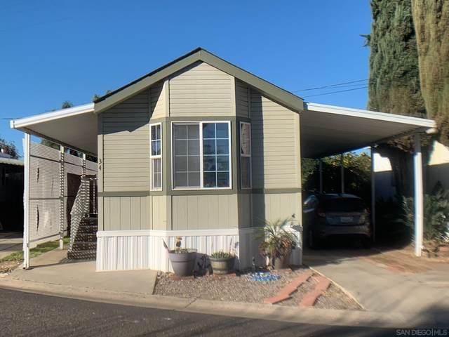 10250 Prospect Ave #34, Santee, CA 92071 (#210004751) :: Neuman & Neuman Real Estate Inc.