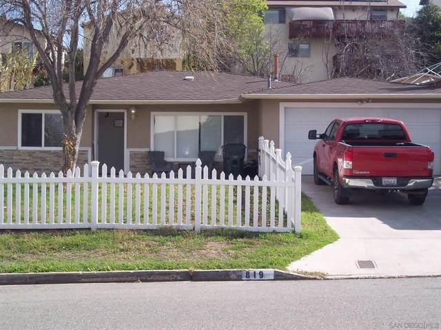 819 Felicita Ave, Spring Valley, CA 91977 (#210004921) :: Carrie Filla & Associates
