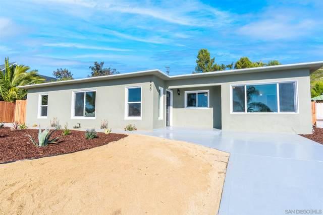 445 Silvery Ln, El Cajon, CA 92020 (#210005185) :: Neuman & Neuman Real Estate Inc.