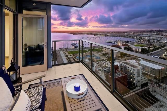 1388 Kettner #2603, San Diego, CA 92101 (#210006233) :: Wannebo Real Estate Group