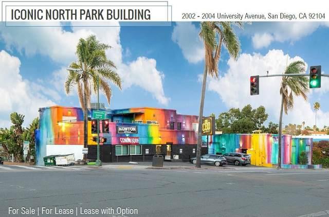 2002-2004 University Avenue, San Diego, CA 92104 (#210006857) :: Dannecker & Associates