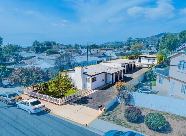 1270-72 Naranca Ave, El Cajon, CA 92021 (#210007713) :: Keller Williams - Triolo Realty Group