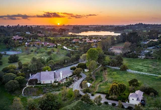 6631 Lago Lindo, Rancho Santa Fe, CA 92067 (#210007940) :: Neuman & Neuman Real Estate Inc.