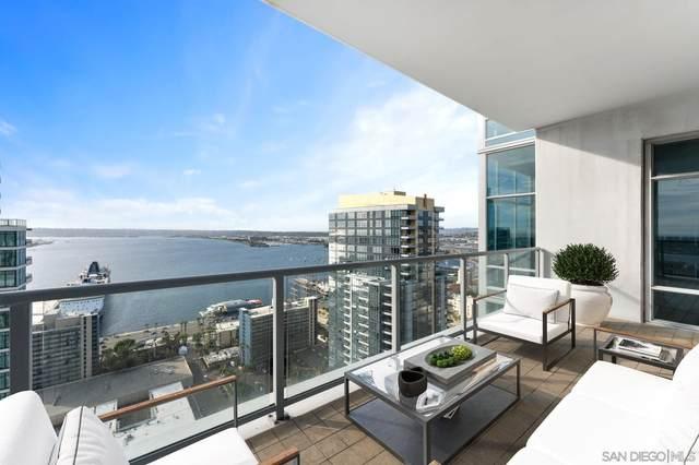 1262 Kettner Blvd. #3202, San Diego, CA 92101 (#210008070) :: Wannebo Real Estate Group