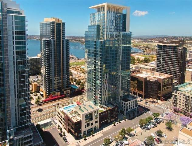 1388 Kettner Blvd. #3603, San Diego, CA 92101 (#210008716) :: Wannebo Real Estate Group