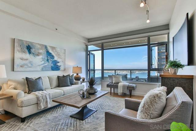 700 W E #2702, San Diego, CA 92101 (#210009246) :: Wannebo Real Estate Group