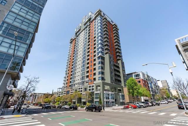 300 W Beech St #808, San Diego, CA 92101 (#210009318) :: Solis Team Real Estate