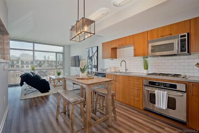 800 The Mark Ln #1106, San Diego, CA 92101 (#210009423) :: Solis Team Real Estate