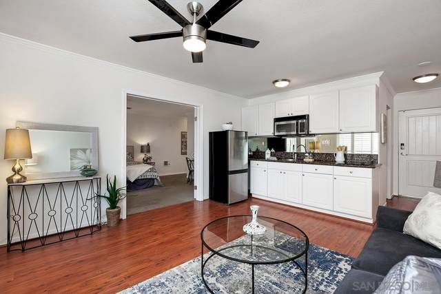 1021 Scott St #205, San Diego, CA 92106 (#210009672) :: Wannebo Real Estate Group
