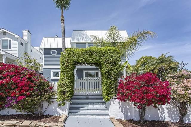 302 E Avenue, Coronado, CA 92118 (#210010118) :: The Legacy Real Estate Team