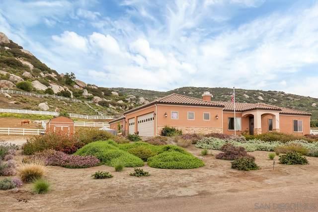 1473 Santa Fe Hills Drive, Ramona, CA 92065 (#210011215) :: The Legacy Real Estate Team