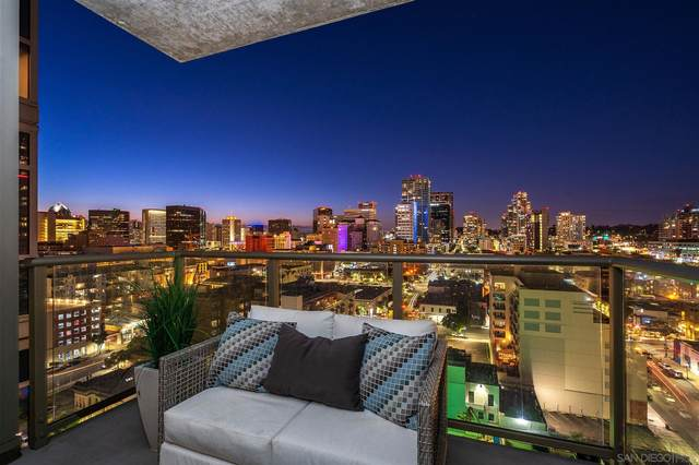 800 The Mark Ln #1602, San Diego, CA 92101 (#210011551) :: Neuman & Neuman Real Estate Inc.