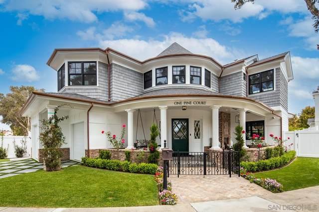 1 Pine Court, Coronado, CA 92118 (#210011588) :: Keller Williams - Triolo Realty Group
