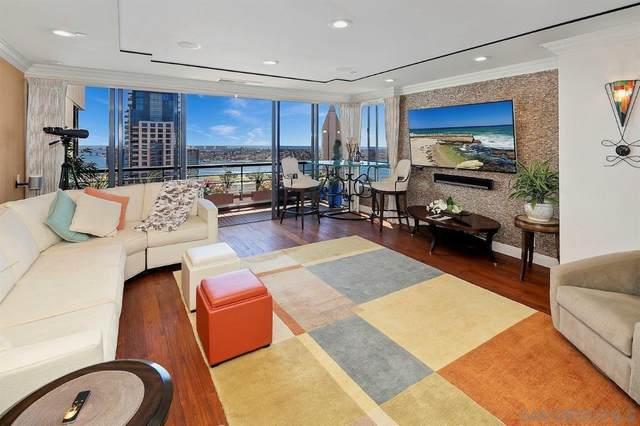 700 Front Street #2302, San Diego, CA 92101 (#210011745) :: Neuman & Neuman Real Estate Inc.