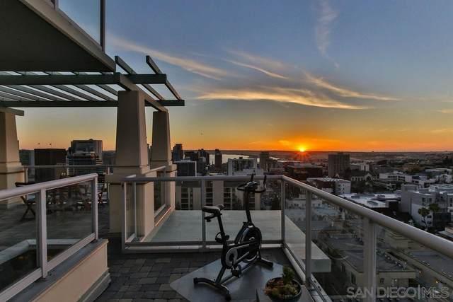 850 Beech St #1804, San Diego, CA 92101 (#210011802) :: Neuman & Neuman Real Estate Inc.