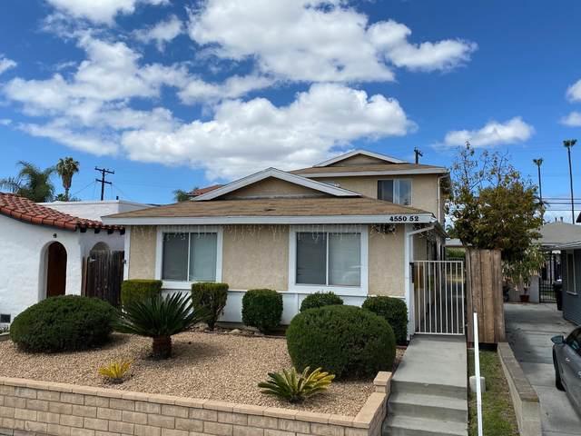 4550-52 36th Street, San Diego, CA 92116 (#210011807) :: Yarbrough Group
